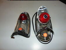 Vintage 1956 Chevrolet Tail Lights Housing Assembly with Hide-away gas tank door