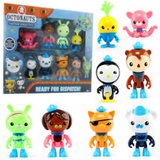 8pcs Octonauts Octo-crew Action Figure Kid Childrens Toy Doll Gift Collection UK