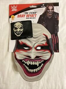 WWE The Fiend Bray Wyatt Mask And Cuffs by Rubies authentic mask new