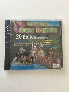 Los Mejores Grupos Tropicales 20 Exitos Originales new Sealed Spanish