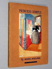 PRINCESS DIMPLE - Mabel Marlowe (1934) Illustrated by Marjorie Dawes & Zoo story