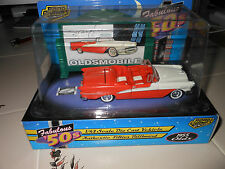 1/43  Road Champs Fabulous 50s 1955 Olds Starfire CONV die cast car Authentic BB