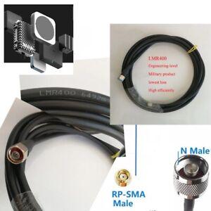 LMR400 cable N male to RP SMA Male HNT, bobcat, rak v2miner, Sensecap M1, Helium