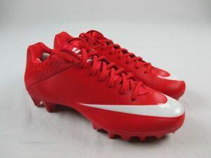 Nike Vapor Speed 2 TD CF Cleats Men's Red/White NEW Multiple Sizes