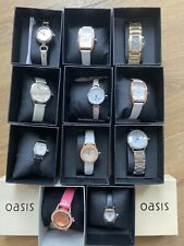 Job Lot Oasis Ladies Watches 30 Pieces Some Need Batteries