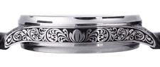 Stainless Steel Watch Case 48mm - Engraved