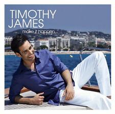 CD album Timothy James make it happen (Angels Walk, The Best) 2011 Sony