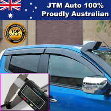 Weather Shields Window Visors to suit Mitsubishi Triton MQ 2014-2018
