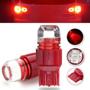 2X Red 3LED 7443 5630 Bulb Car Auto Turn Brake Reverse Light Lamp Accessories