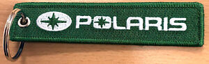 Polaris Embroidered Key Chain, for snowmobiles, off road, motorcycles, ATV