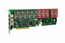 OpenVox A1200P0505 12 Port Analog PCI Base Card + 5 FXS + 5 FXO, Ethernet (RJ45)