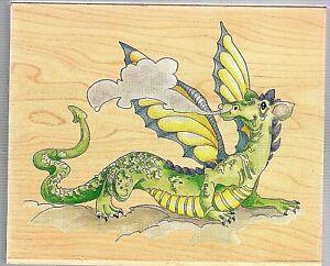 Stamps Happen #80084 Walking Dragon