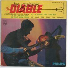 EP 45 TOURS LES GUITARES DU DIABLE J'ENTENDS SIFFLER LE TRAIN PHILIPS 424.291 PE