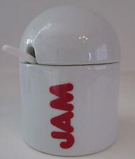 Jam Jar With Lid/Spoon