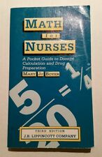 Math For Nurses by Mary Jo Boyer 3rd edition