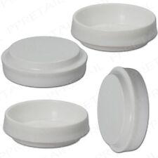 12 X LARGE WHITE CASTOR CUPS Carpet/Floor Chair/Sofa Furniture Protectors Caster