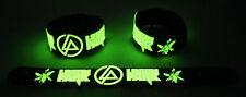 Linkin Park NEW! Glow in the Dark Rubber Bracelet Wristband Numb GG300