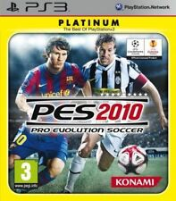 PES 2010 PRO EVOLUTION SOCCER PS3 SONY PLAYSTATION 3 NUOVO ITALIANO PLATINUM
