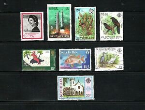 Seychelles -- 8 diff used