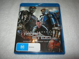 Real Steel - Hugh Jackman - Blu-Ray - VGC - Region B
