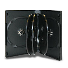 Black Multiple Disc CD DVD Blu Ray Media Storage Case Holder Wholesale Lot