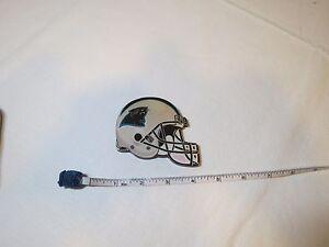 Carolina Panthers football helmet magnet vintage wood RARE fridge Team NFL