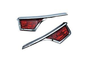 Kuryakyn 3240 Passenger Armrest Trim LED Turn Signal Accents GL1800 Harness Incl