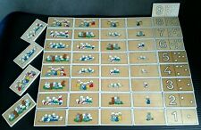 Vintage rolf Made in Holland rabbits Numeracy Educational Toy - Jaklien Moerman.