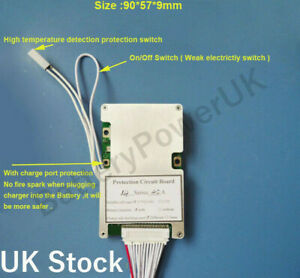 10s 36V bms 40A constant current - ON/Off switch UK Stock High Quality Smart
