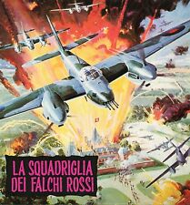 BROCHURE,Squadriglia dei falchi rossi,Mosquito Squadron,Sagal,McCallum,Aviation