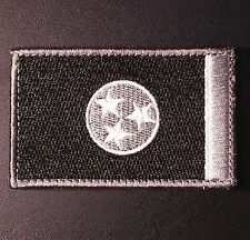 TENNESSEE STATE FLAG SWAT SUBDUED VELCRO® BRAND FASTENER MORALE PATCH
