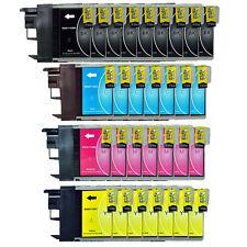 30 Tinte Patronen für Brother LC980 LC1100 DCP 145C 185C 195C 165C 185 C 375CW