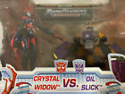 Transformers Universe Crystal Widow, Oil Slick w/Search and Destroy Robot - MISP