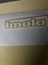 alfa romeo 33 imola adesivo