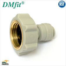 "1/2"" BSP FI x 1/4"" Female Adaptor Fridge Water Filter Connector John Guest Tube"