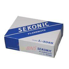 Sekonic L-308s Flashmate Light Meter L308 S Flash Master ~ Brand NEW CE Version
