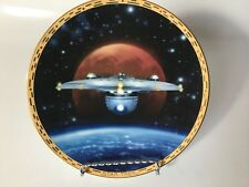 Star Trek Voyagers Uss Excelsior Collectible Plate