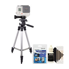 Tall Tripod with Screen Protector Kit and Cleaning Kit
