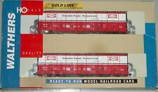 WALTHERS 932-27028 GOLD LINE THRALL BOXCAR 2-PK CANADIAN FOREST CANFOR CFPX RED