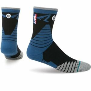 NWT Stance NBA Minnesota Timberwolves Crew Socks Basketball Small (3-5.5) Blue