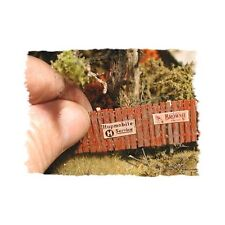 """INSTA-FENCE"" - N SCALE KIT BY BAR MILLS - KIT #041"