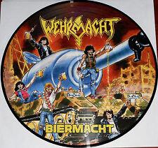 Wehrmacht - Biermacht LP Picture Disc Vinyl Gatefold / New Re (2014) Thrash