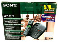 Sony SPP-A973 Digital Cordless Telephone Answering System VTG