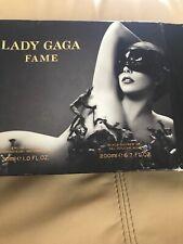Lady Gaga Fame Black Fluid Eau De Parfum 30ml and Shower Gel 200ml Gift Set BNIB