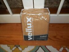 NIP West Point Home Vellux Tan 100% Natural Cotton King Blanket