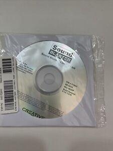 NEU Vintage Sound Blaster Live 24-bit Software Installation CD Win 2k & Win XP