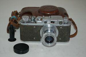 Fed-1 (Type F) Vintage 1954 Soviet Rangefinder Camera & Case. No.455905. UK Sale