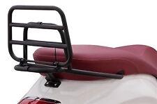 Rear Luggage Rack BONUS Metal Clamp for Vespa Sprint / Primavera, Black