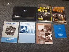 2011 Ford F350 Super Duty Owner Owner's Operator Manual Set King Ranch Lariat XL