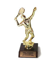 Tennis, Male Trophy- Match-  Award- Tournament- Desktop Series- Free Lettering